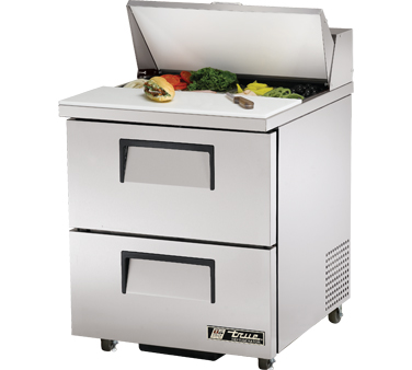 True TSSU-27-8D-2 6.5 Cu Ft Sandwich / Salad Prep Table