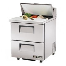 True TSSU-27-8D-2-ADA 6.5 Cu Ft Sandwich / Salad Prep Table