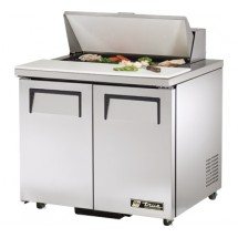 True TSSU-36-8-ADA 8.5 Cu Ft Sandwich / Salad Prep Table With 11-3/4