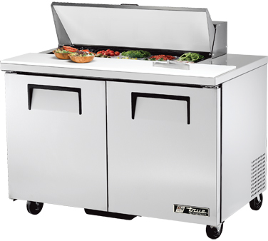 True TSSU-48-10 12 Cu Ft Sandwich / Salad Prep Table
