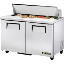 True TSSU-48-12 12 Cu Ft Sandwich / Salad PrepTable