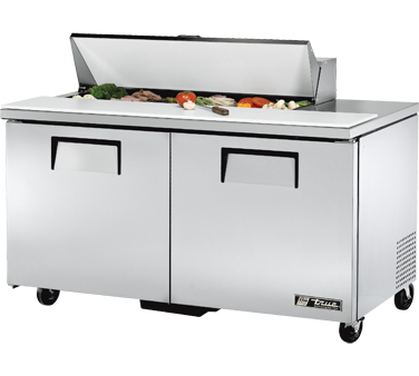 True TSSU-60-12 15.5 Cu Ft Sandwich / Salad Prep Table With 11-3/4