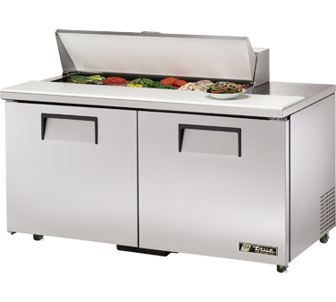 True TSSU-60-12-ADA 15.5 Cu Ft Sandwich / Salad Prep Table With 11-3/4