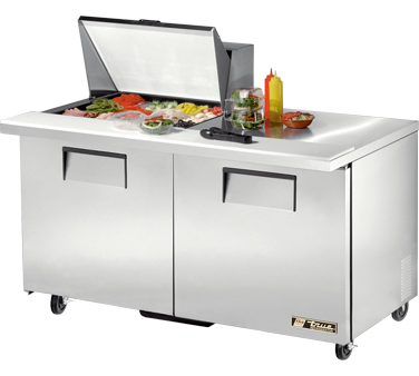 True TSSU-60-12M-B 15.5 Cu Ft Mega Top Sandwich / Salad Prep Table