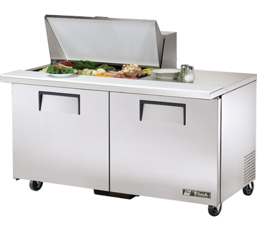 True TSSU-60-15M-B 15.5 Cu Ft Mega Top Sandwich / Salad Prep Table