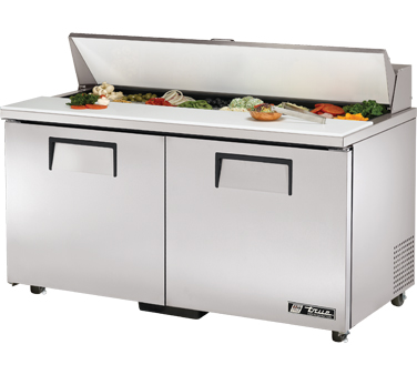 True TSSU-60-16-ADA 15.5 Cu Ft Sandwich / Salad Prep Table With 11-3/4