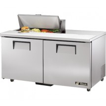 True TSSU-60-8-ADA 15.5 Cu Ft Sandwich / Salad Prep Table With 11-3/4