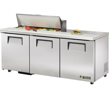 True TSSU-72-10-ADA 19 Cu Ft Sandwich / Salad Prep Table With 11-3/4