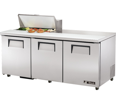 True TSSU-72-8-ADA 19 Cu Ft Sandwich / Salad Prep Table With 11-3/4