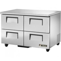 True TUC-48F-D-4 12 Cu Ft Undercounter Freezer