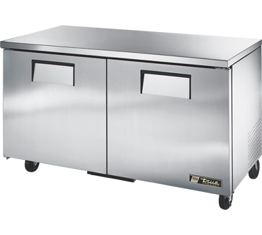 True TUC-60F 15.5 Cu Ft Undercounter Freezer