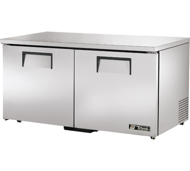 True TUC-60F-LP 15.5 Cu Ft Low Profile Undercounter Freezer
