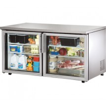 True TUC-60G-LP 15.5 Cu Ft Low Profile Undercounter Refrigerator