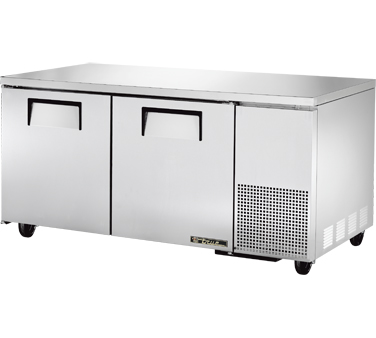 True TUC-67 20.6 Cu Ft Deep Undercounter Refrigerator