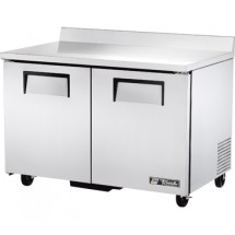 True TWT-48F 12 Cu Ft Two-Section Work Top Freezer