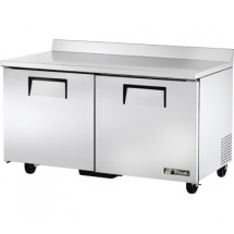 True TWT-60F 15.5 Cu Ft Two-Section Work Top Freezer