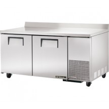 True TWT-67 20.6 Cu Ft Two-Section Work Top Refrigerator