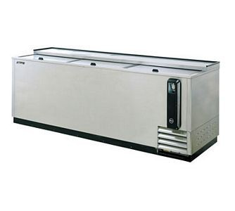 Turbo Air  TBC-95SD-N Super Deluxe  Stainless Steel Bottle Cooler 95''