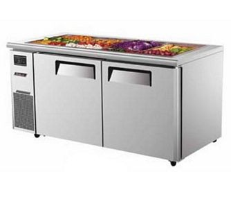 Turbo Air JBT-48 Two Section Side Mount Refrigerated Buffet Table