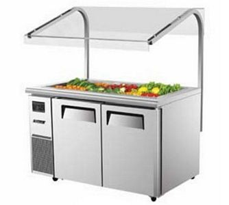 Turbo Air JBT-60-N Two Door  Refrigerated Buffet Table 60