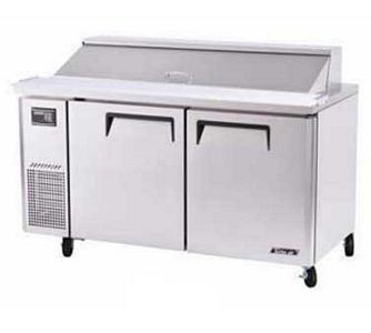 Turbo Air JST-60-N 2 Door Side Mount Refrigerated Sandwich Prep Table 60