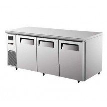 Turbo Air JUR-72 Three Section Undercounter Refrigerator