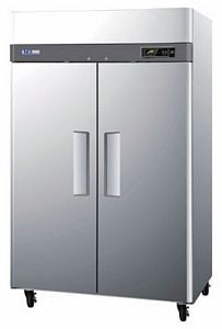 Turbo Air M3R47-2 Two-section Reach-In Refrigerator