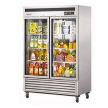 Turbo Air TSR-49GSD-N Super Deluxe 2 Glass Door Reach In Refrigerator 54