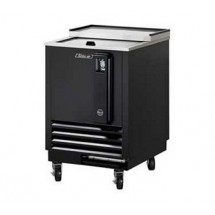Turbo Air TBC-24SB-N6 Super Deluxe Black Bottle Cooler 24