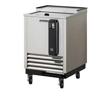Turbo Air TBC-24SD-N6  Super Deluxe Stainless Steel Bottle Cooler 24