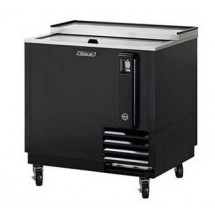 Turbo Air TBC-36SB-N6 Super Deluxe Black Bottle Cooler 36''