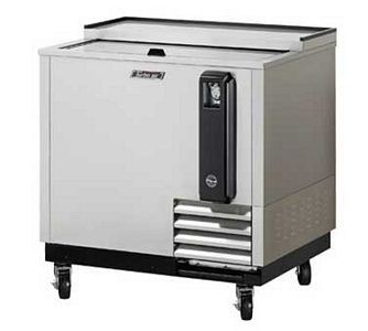 Turbo Air TBC-36SD-N6 Super Deluxe Stainless Steel Bottle Cooler 36''