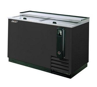 Turbo Air TBC-65SB-N6 Black Bottle Cooler 65''