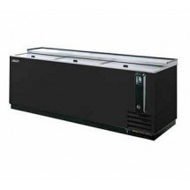 Turbo Air TBC-80SB-N Black Bottle Cooler 80