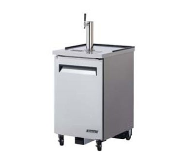 Turbo Air TBD-1SD-N6 Super Deluxe Stainless Steel Double Tap Beer Dispenser 24
