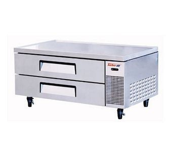 Turbo Air TCBE-52SDR-E-N Two Drawer Refrigerated Chef Base with Extended Top 52