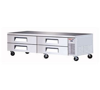 Turbo Air TCBE-96SDR-N 72 Four Drawer Refrigerated Chef Base 96