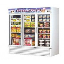 Turbo Air TGF-72F Three-Section Freezer Merchandiser