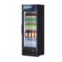 Turbo Air TGM-15SD-B-N6 Super Deluxe Black Swing Door Refrigerated Merchandiser 26