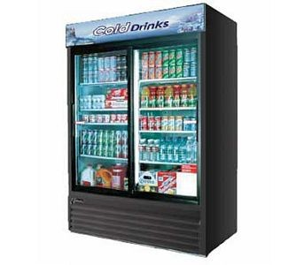 Turbo Air TGM-48R Two-Section 48 CU. FT. Refrigerated Merchandiser