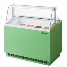 Turbo Air TIDC-47G 47'' Green Ice Cream Dipping Cabinet