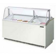 Turbo Air TIDC-70G 70'' Green Ice Cream Dipping Cabinet
