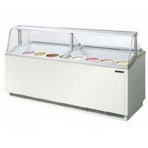 Turbo Air TIDC-91G 91'' Green Ice Cream Dipping Cabinet