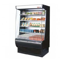 Turbo Air TOM-48-DX Extra Deep Vertical Open Display Merchandiser - 48