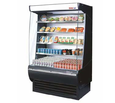 Turbo Air TOM-60-DX Extra Deep Vertical Open Display Merchandiser - 60