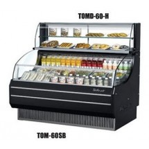 Turbo Air TOMD-60-H Top Display Dry Case-High Model For Open Display Merchandiser TOM-60