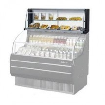 Turbo Air TOMD-60-HB Top Display Dry Case-High Model For Open Display Merchandiser TOM-60