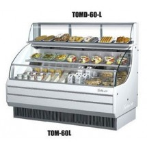 Turbo Air TOMD-60-L Top Display Dry Case-Low Model For Open Display Merchandiser TOM-60