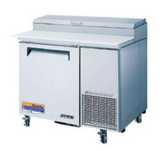 Turbo Air TPR-44SD-N Super Deluxe Refrigerated Pizza Prep Table  44