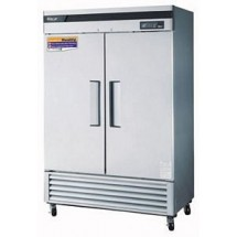 Turbo Air TSF-49SD-N   Super Deluxe  Two-Section Solid Door Reach-In Freezer 54